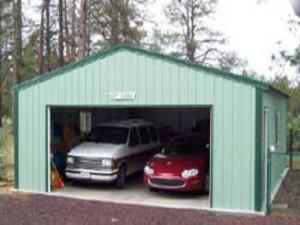 Steel Garages and Shop Buildings